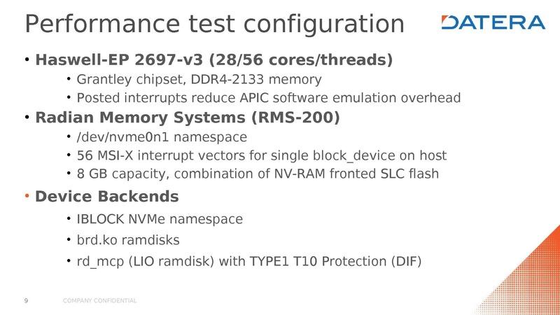 KVM I/O performance and end-to-end reliability Nicholas Bellinger