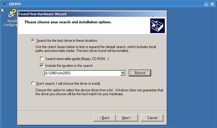 WindowsGuestDrivers/viostor/installation - KVM