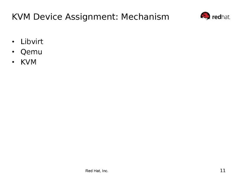 KVM Arch Details