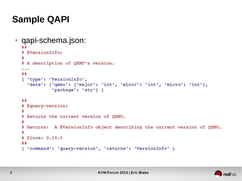 QAPI Interface Design: Best Practices